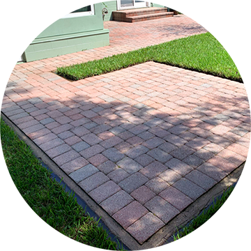 Paver Cleaning Service
