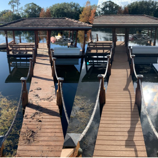 Dock Cleaning
